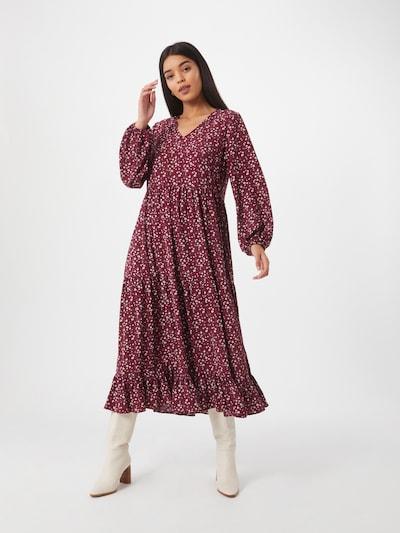 GLAMOROUS Kleid in bordeaux, Modelansicht