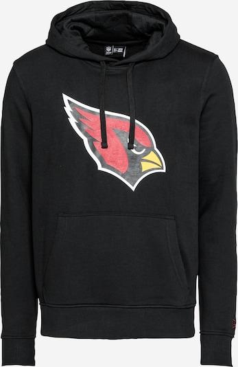 NEW ERA Sweatshirt 'NFL Arizona Cardinals' in gelb / melone / schwarz / weiß, Produktansicht