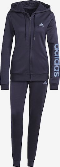 ADIDAS PERFORMANCE Trainingspak in de kleur Smoky blue / Donkerblauw, Productweergave
