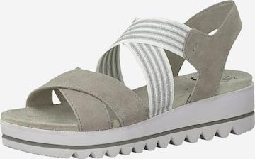 Sandales JANA en gris