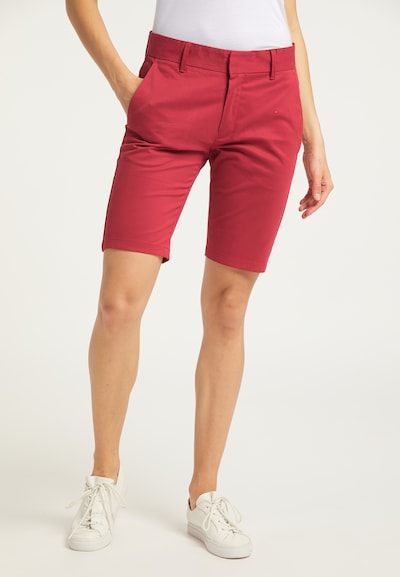 DreiMaster Maritim Shorts in rot, Modelansicht