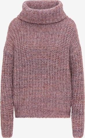 usha FESTIVAL Oversized Sweater in Purple
