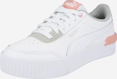 PUMA Zapatillas deportivas 'Carina' en gris / rosa / blanco, Vista del producto