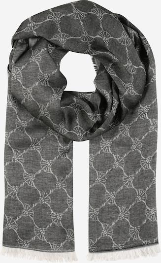 JOOP! Sjaal 'Ferdis' in de kleur Grijs / Zwart gemêleerd, Productweergave