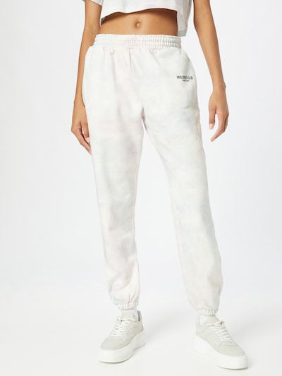 Pantaloni 'SPORTS CLUB' PARI pe albastru pastel / roz pastel / alb, Vizualizare model