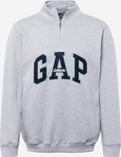 GAP Sweatshirt in navy / türkis / hellgrau / weiß, Produktansicht