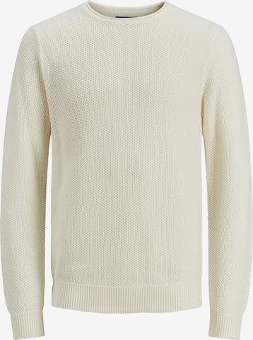 JACK & JONES Pullover 'Conrad' in Weiß