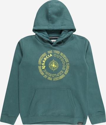 GARCIA Sweatshirt in Grün