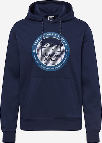 JACK & JONES Μπλούζα φούτερ 'Bilo' σε μπλε