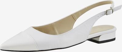 heine Riemchenballerina in weiß, Produktansicht