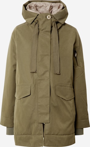 g-lab Between-seasons parka 'Miora' in Green