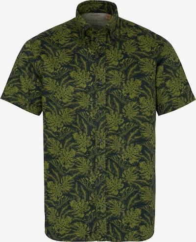 ETERNA Hemd in hellgrün / dunkelgrün, Produktansicht