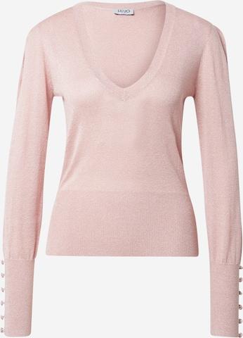 LIU JO JEANS Sweater in Pink