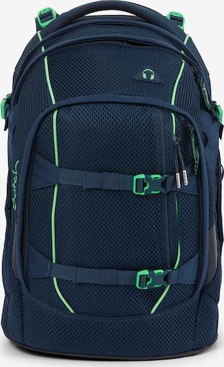 Satch Pack Schulrucksack 45 cm Laptopfach in blau, Produktansicht