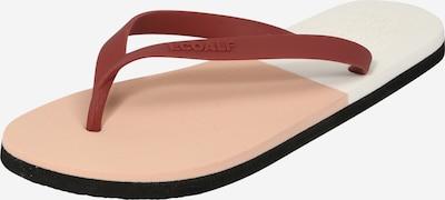 ECOALF Сандали с разделител за пръстите в бледорозово / питая / бяло, Преглед на продукта