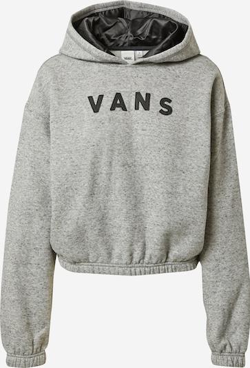 VANS Sweatshirt in graumeliert / schwarz, Produktansicht