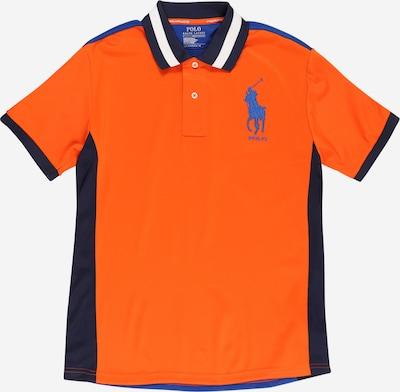 POLO RALPH LAUREN Tričko - modrá / oranžová, Produkt