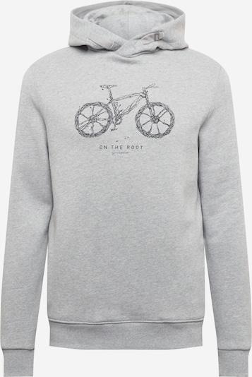 GREENBOMB Sweatshirt 'Bike Root - Star' in grau / schwarz, Produktansicht