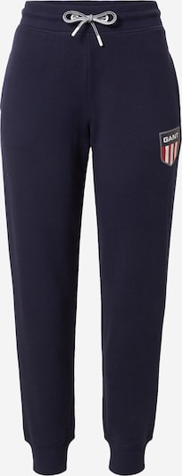 GANT Pants 'RETRO' in Navy / Silver grey / Red / Egg shell, Item view