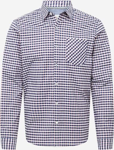 s.Oliver Overhemd in de kleur Blauw / Wit, Productweergave