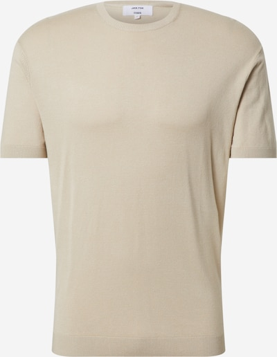 DAN FOX APPAREL Shirt 'Jerome' in de kleur Beige, Productweergave