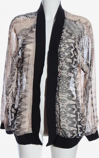 MS mode Cardigan in XXL in schwarz / wollweiß, Produktansicht