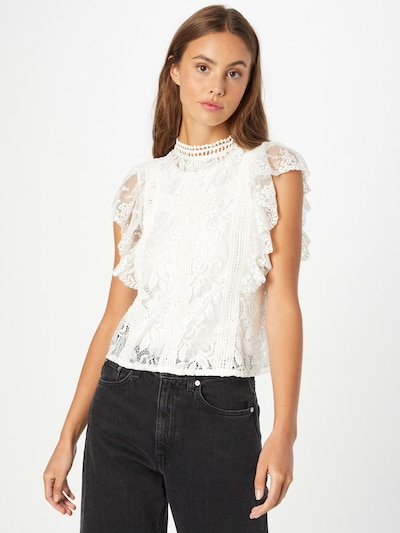 Q/S by s.Oliver Bluse in offwhite, Modelansicht