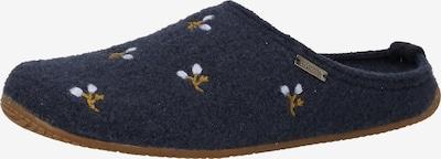 Living Kitzbühel Huisschoenen in de kleur Nachtblauw / Lichtblauw / Karamel, Productweergave
