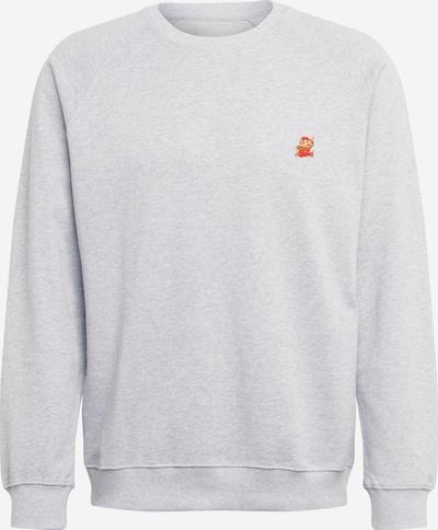 DEDICATED. Sweater majica 'Super Mario' u siva melange, Pregled proizvoda
