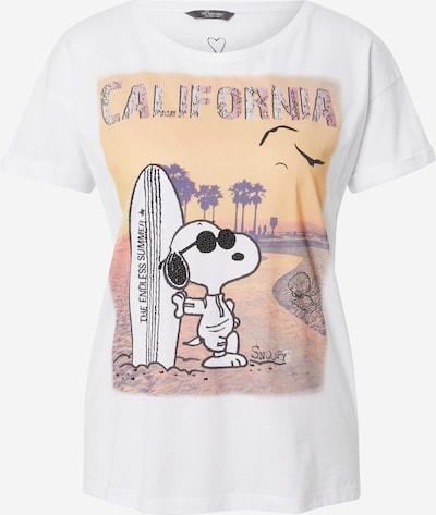 PRINCESS GOES HOLLYWOOD T-Shirt 'Snoopy California' in mischfarben / weiß, Produktansicht