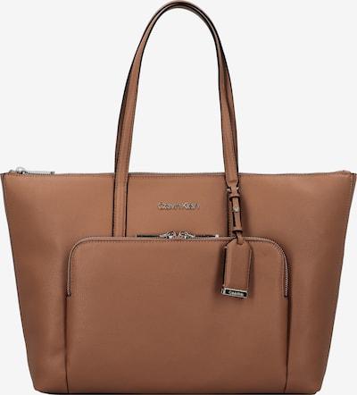 Calvin Klein Cabas 'Must' en marron, Vue avec produit
