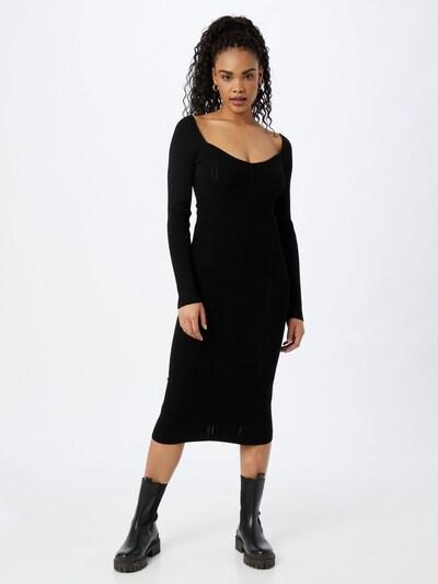 PATRIZIA PEPE Úpletové šaty - černá, Model/ka