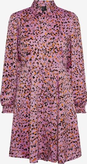 VERO MODA Košilové šaty 'Gaja' - oranžová / červenofialová / černá, Produkt