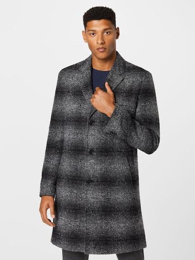 HUGO Mantel in grau / dunkelgrau, Modelansicht