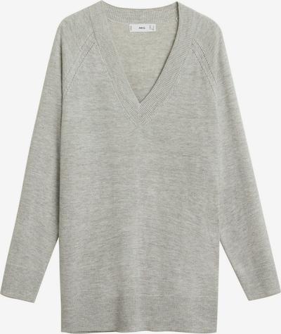 MANGO Pullover in hellgrau, Produktansicht