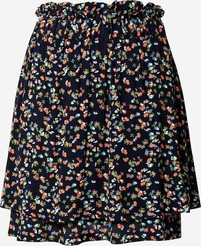 NÜMPH Rok 'DACEY' in de kleur Donkerblauw / Gemengde kleuren, Productweergave