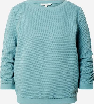 TOM TAILOR DENIM Sweat-shirt en turquoise, Vue avec produit