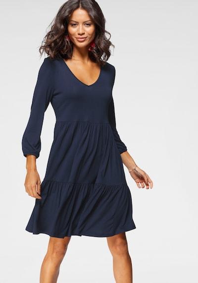 LAURA SCOTT Shirt Dress in marine blue, View model