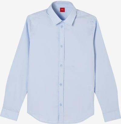 s.Oliver Overhemd in de kleur Lichtblauw, Productweergave