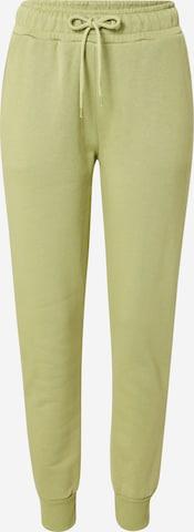 NA-KD Püksid, värv roheline