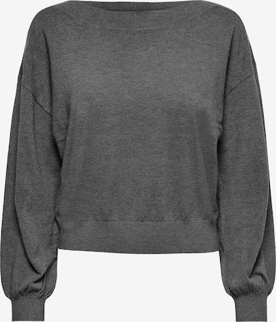 ONLY Pullover 'Cozy' in dunkelgrau, Produktansicht