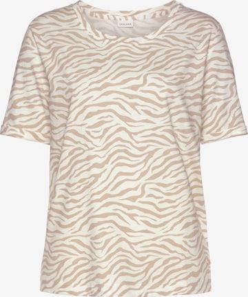 Chemise de nuit LASCANA en blanc