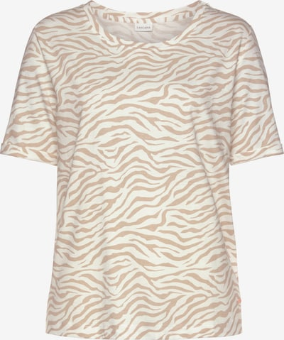 LASCANA Slaapshirt in de kleur Crème / Wit, Productweergave