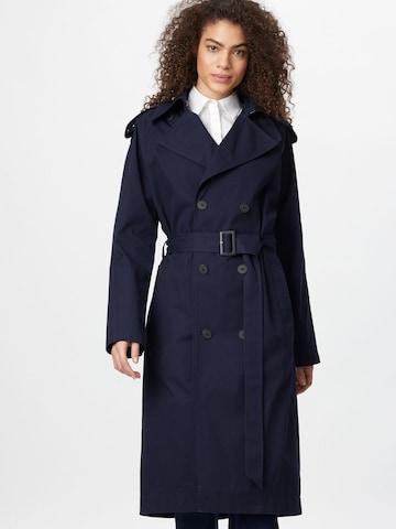 IVY & OAK Between-Seasons Coat in Blue