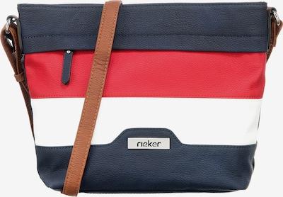 RIEKER Umhängetasche in dunkelblau / rot / weiß, Produktansicht