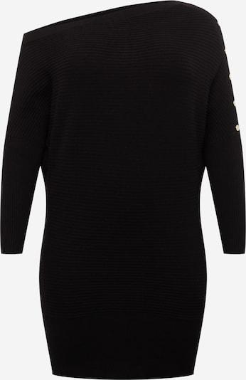 River Island Plus Strickkleid in schwarz, Produktansicht