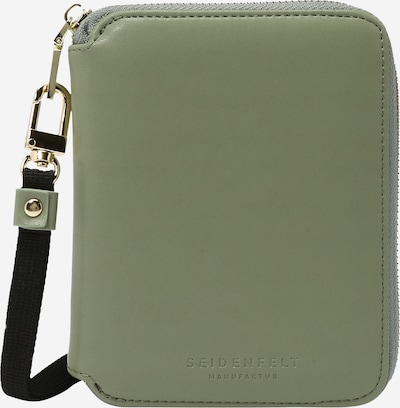 Seidenfelt Manufaktur Wallet 'Selma' in Pastel green, Item view