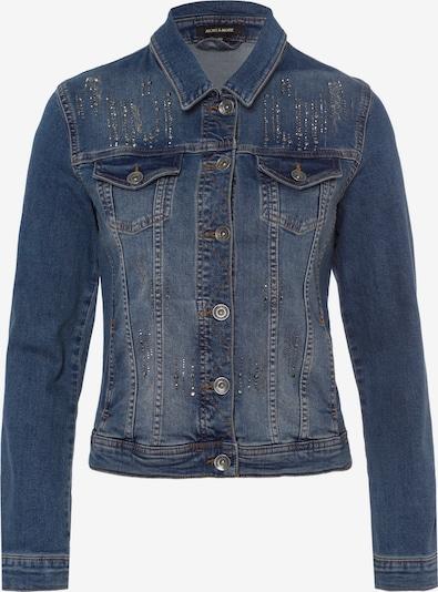 MORE & MORE Jacke in blue denim, Produktansicht