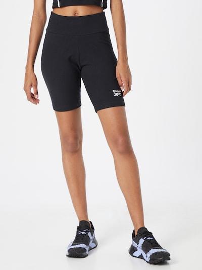 Reebok Classics Shorts in schwarz / weiß, Modelansicht