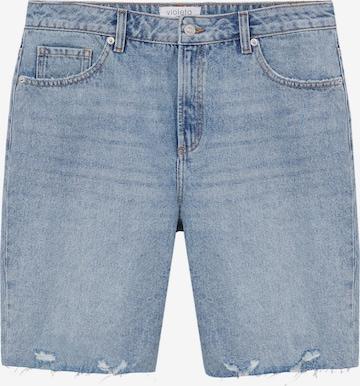 MANGO Jeans 'MILAN' i blå